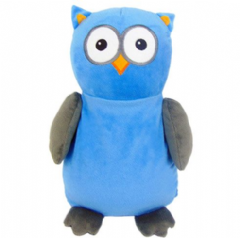 Personalised Cubbie Blue Owl